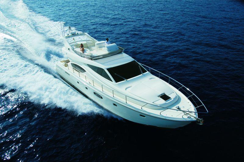 Ferretti 550 (Fly / Motor Yacht)