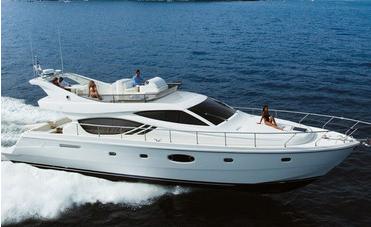 Ferretti 551 (Fly / Motor Yacht)