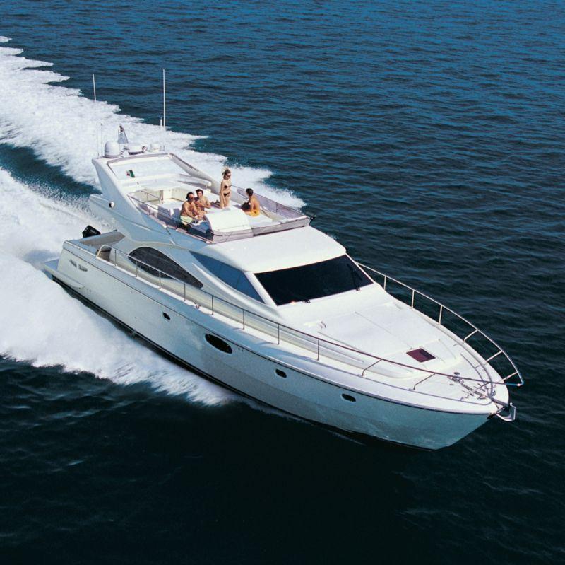 Ferretti 590 (Fly / Motor Yacht)