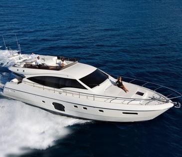 Ferretti 592 (Fly / Motor Yacht)
