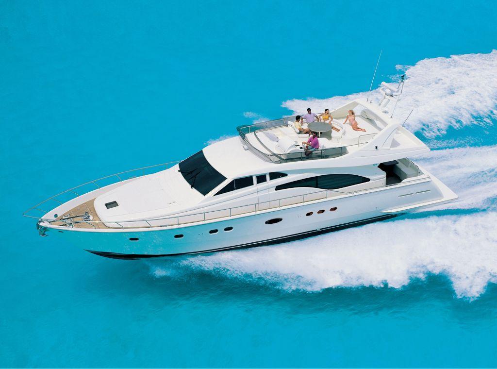Ferretti 680 (Fly / Motor Yacht)