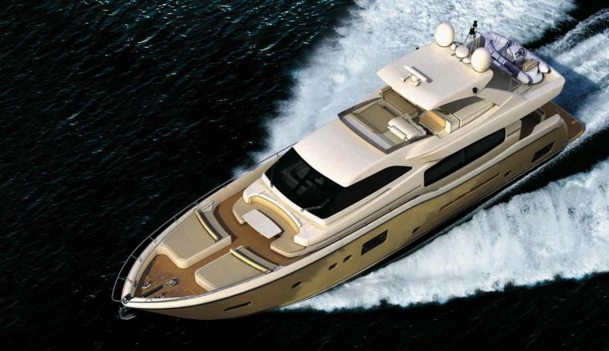 Ferretti Altura 840 (Motor Yacht / Fly)