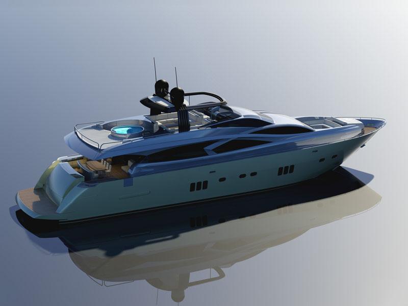 Filippetti Yacht Evo 980 (Fly / Motor Yacht)