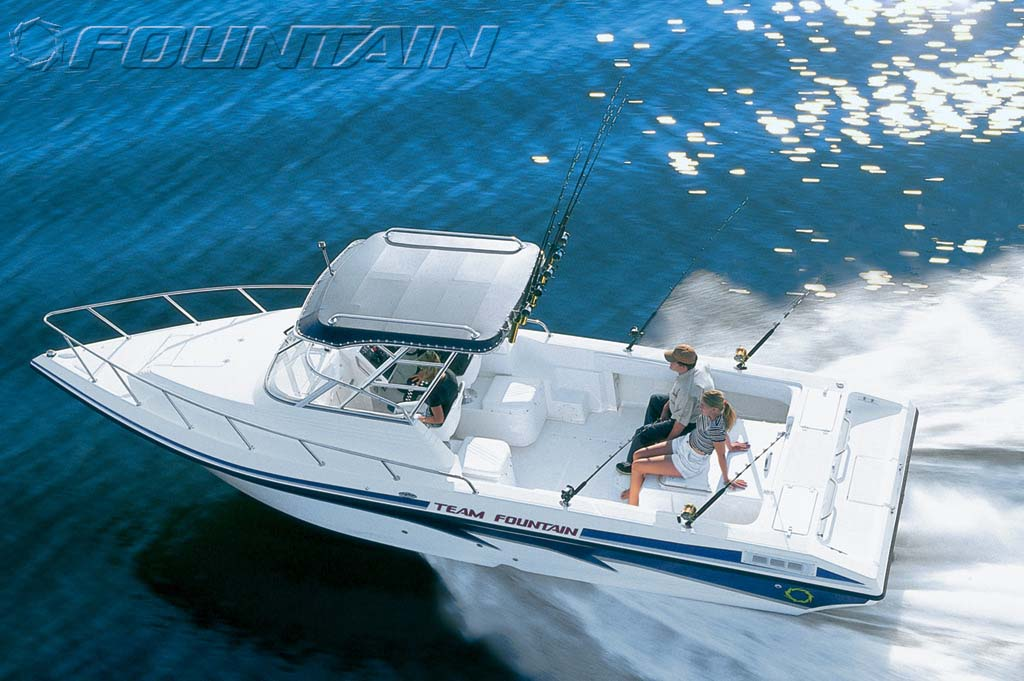 Fountain 29 Sportfish Cruiser IO (Pêche)