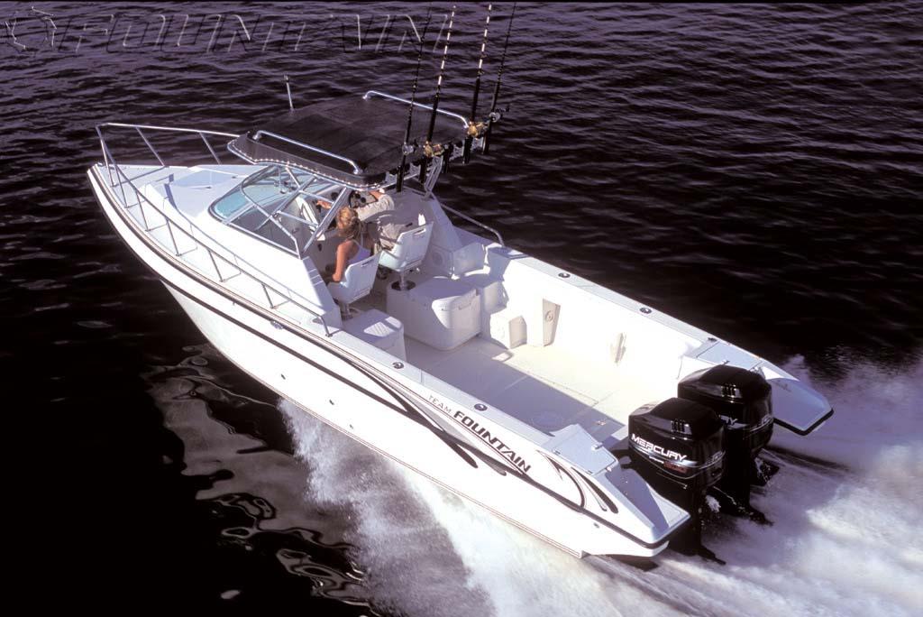 Fountain 29 Sportfish Cruiser OB (Fisher)