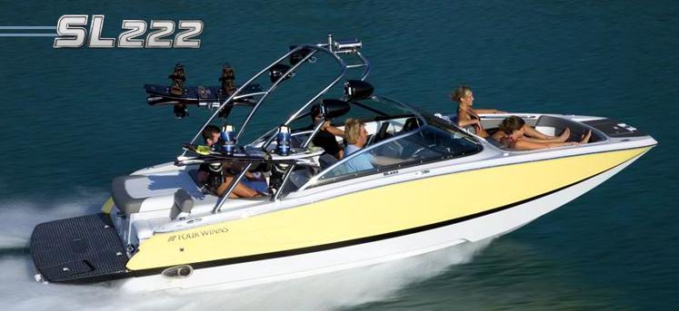 Four Winns SL 222 (Pêche Promenade)