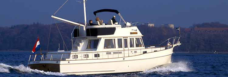 Grand Banks 46 Heritage CL (Fly / Motor Yacht)