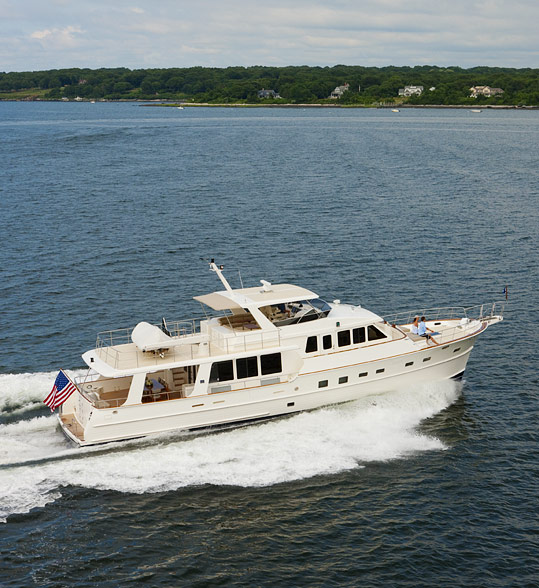 Grand Banks 72 Aleutian SC (Motor Yacht / Fly)