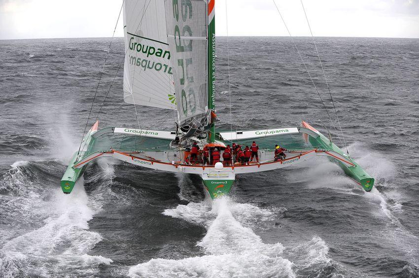 Multiplast <strong>Groupama 3</strong> (Sailing Yacht)