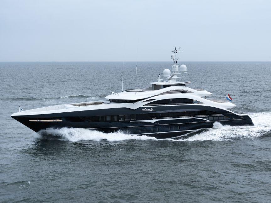 Heesen Yachts <strong>Ann G</strong> (Motor Yacht)