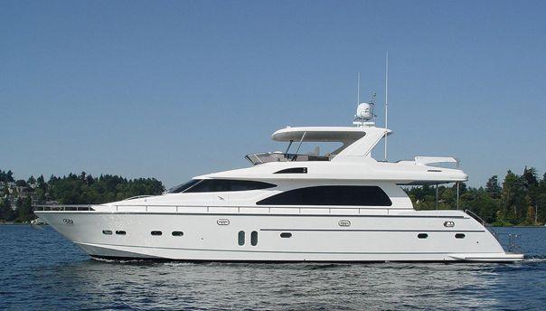 Horizon Yachts E73 (Fly / Motor Yacht)