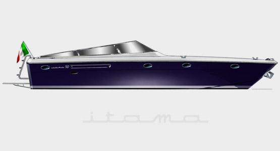 Itama 50 (Open / Motor Yacht)