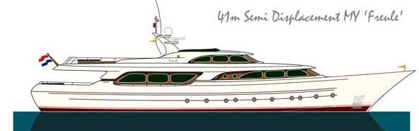 Jongert 4100 MY <strong>Freule</strong> (Motor Yacht)