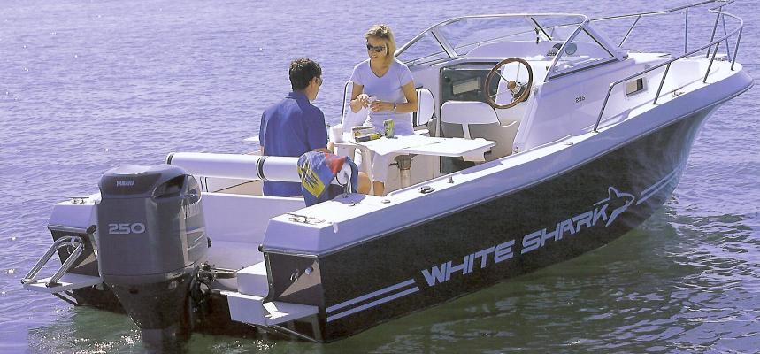 Kelt White Shark 236 (Day cruiser)