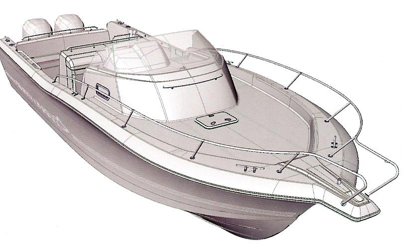 Kelt White Shark 298 (Day cruiser)