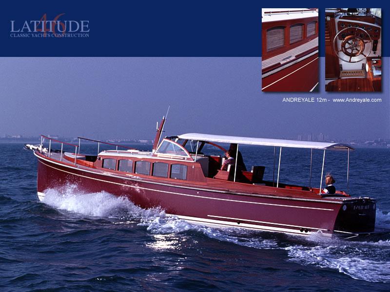 Latitude 46 Andreyale 12m (Power Boat)