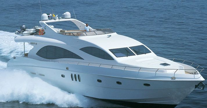 Majesty 88 (Fly / Motor Yacht)