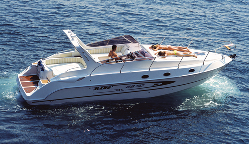 Mano Marine 28.5 (Day cruiser)