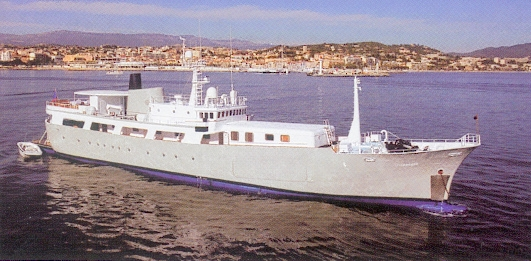 Mitsubishi <strong>Galapagos - ex Tiara II</strong> (Motor Yacht)