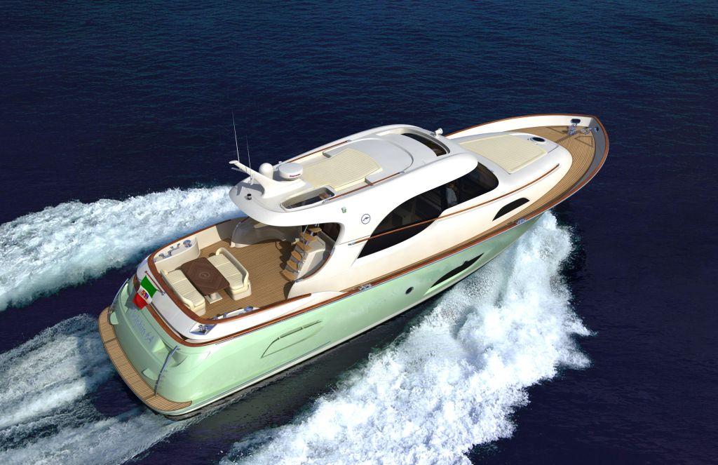 Mochi Craft 64 Dolphin (Lobster / Motor Yacht)