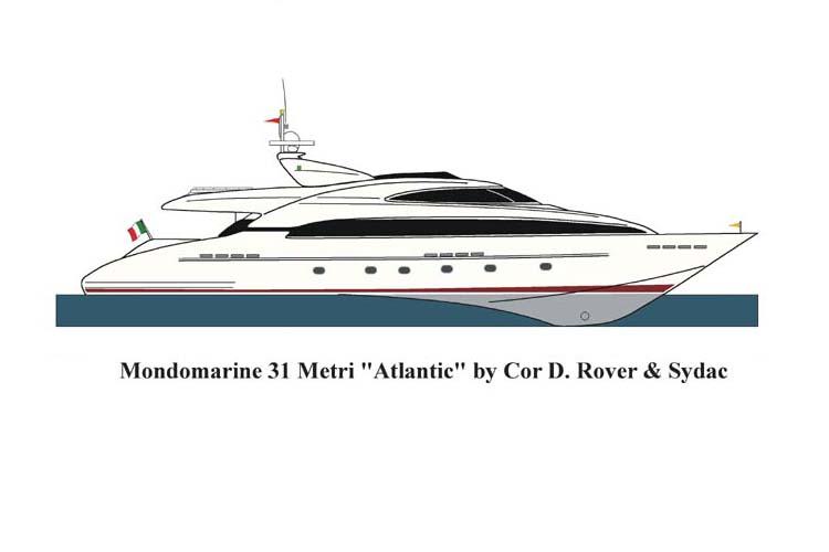 Mondomarine 31M - Atlantic (Motor Yacht)