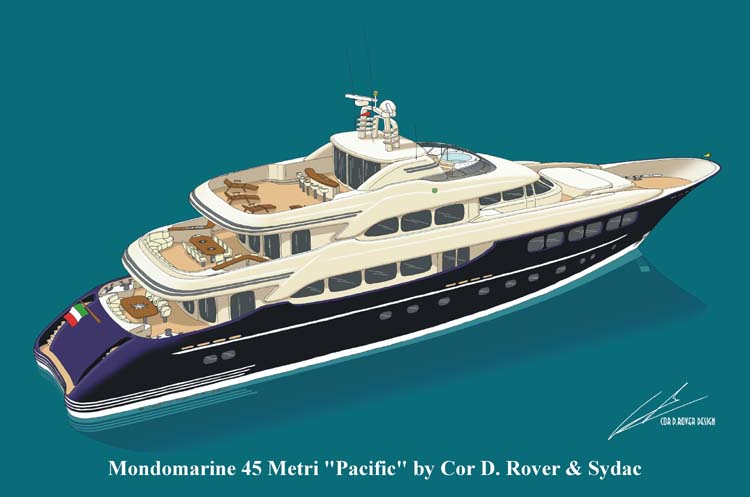 Mondomarine 45M - Pacific (Motor Yacht)