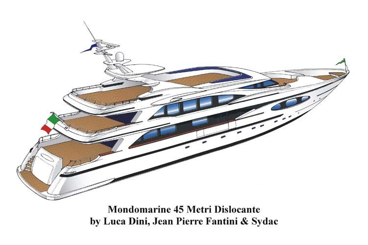 Mondomarine 45M (Motor Yacht)
