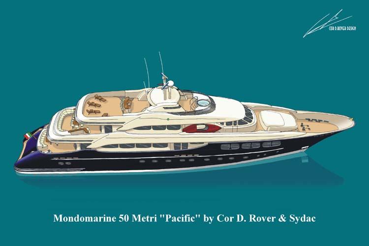 Mondomarine 50M - Pacific (Motor Yacht)