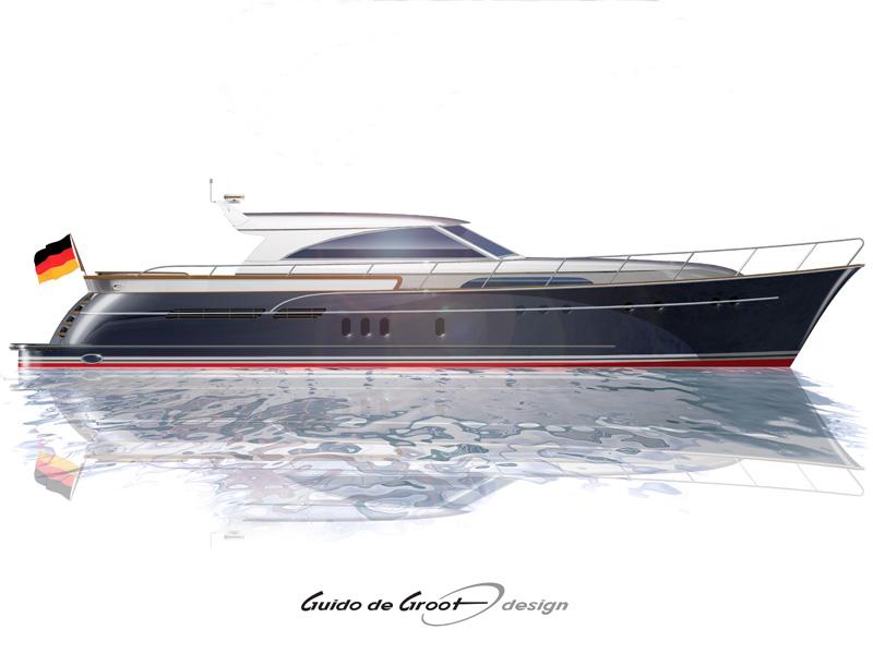 Mulder Shipyard 72 Convertible (Motor Yacht)
