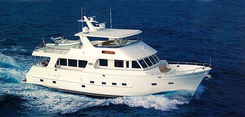 Outer Reef 73 (Fly / Motor Yacht)
