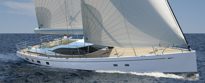 Oyster 100 DS (Sailing Yacht)