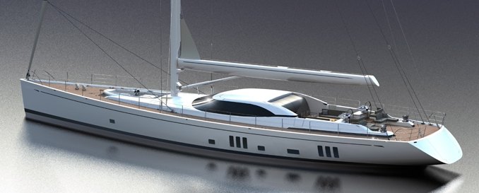 Oyster 125 DS (Sailing Yacht)