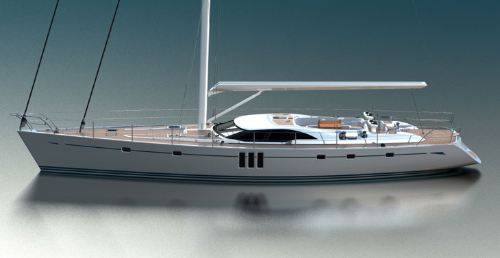 Oyster 725 (Sailing Yacht)