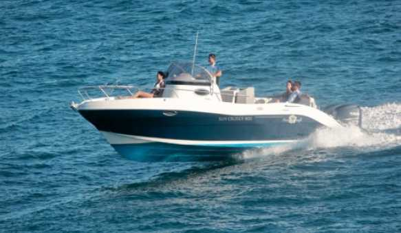 Pacific Craft 800 Sun Cruiser (Pêche Promenade)