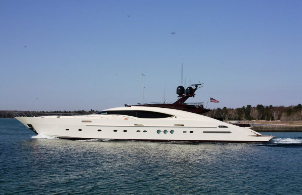 Palmer Johnson PJ 135 <strong>Cover Drive 2</strong> (Motor Yacht)