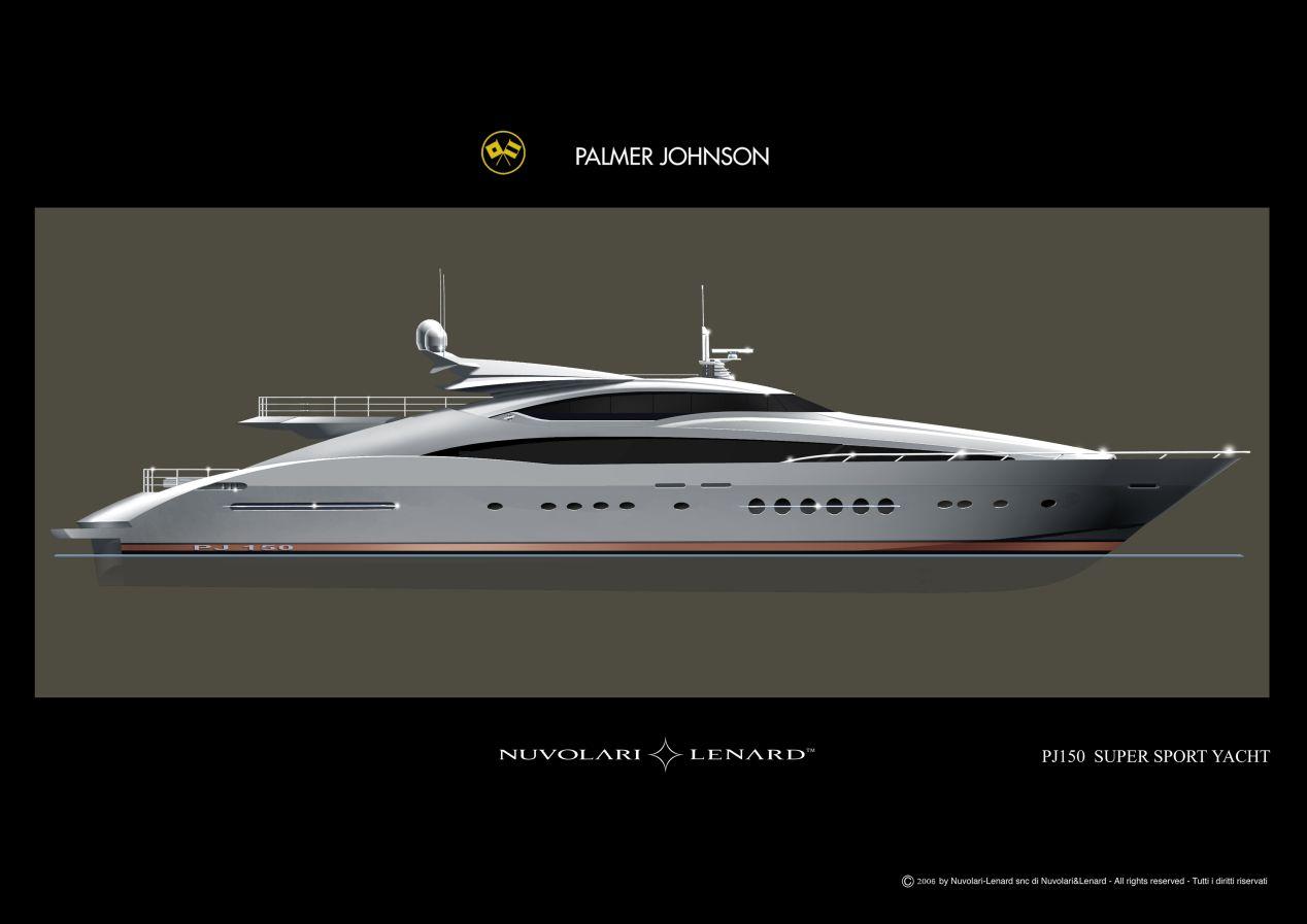 Palmer Johnson PJ 150 (Motor Yacht)