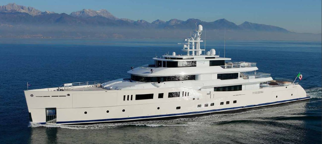 Picchiotti Vitruvius 73m <strong>Grace E</strong> (Motor Yacht)