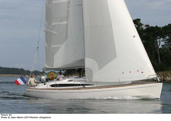 Poncin Yachts Harmony 44 (Voilier)