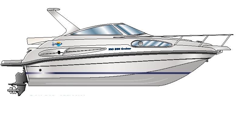 Rio 800 Cruiser (Day cruiser)