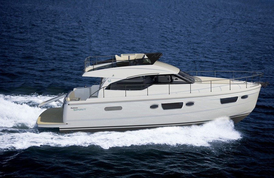 Rodman Spirit 42 (Fly / Power Boat)