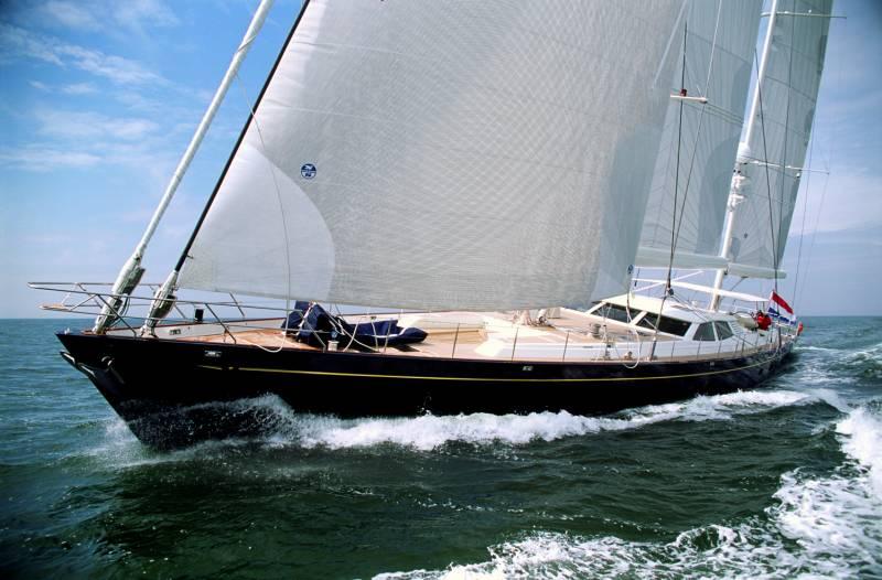 Royal Huisman <strong>Antares</strong> (Sailing Yacht)