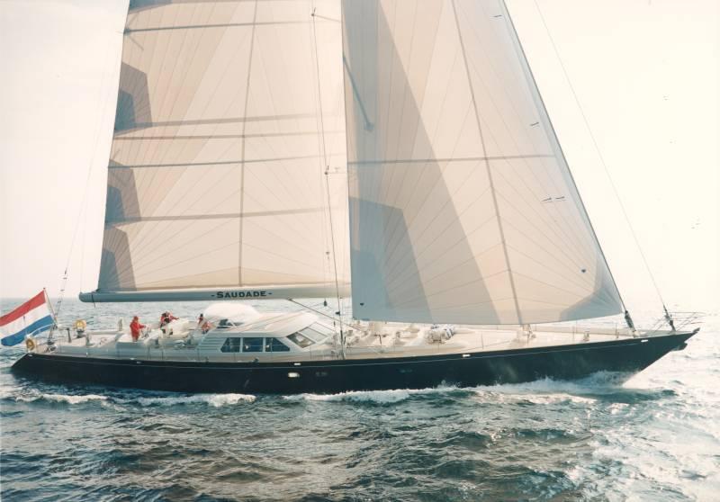 Royal Huisman <strong>Saudade</strong> (Sailing Yacht)