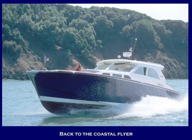 Santa Cruz Yachts Coastal Flyer (Power Boat)