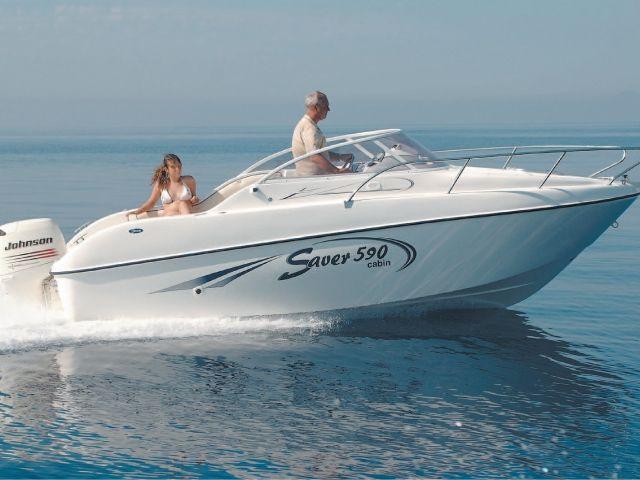Saver Boats 590 Cabin (Pêche Promenade)
