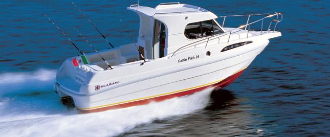 Scarani Cabin Fish 24 (Fisher)