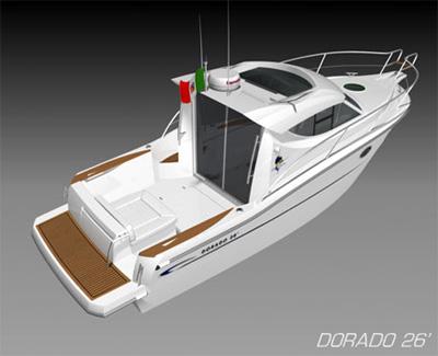 Sessa Marine Dorado 26 (Fisher)