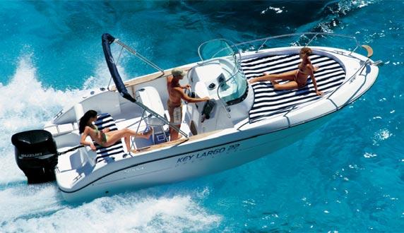Sessa Marine Key Largo 22 Deck (Day Open)