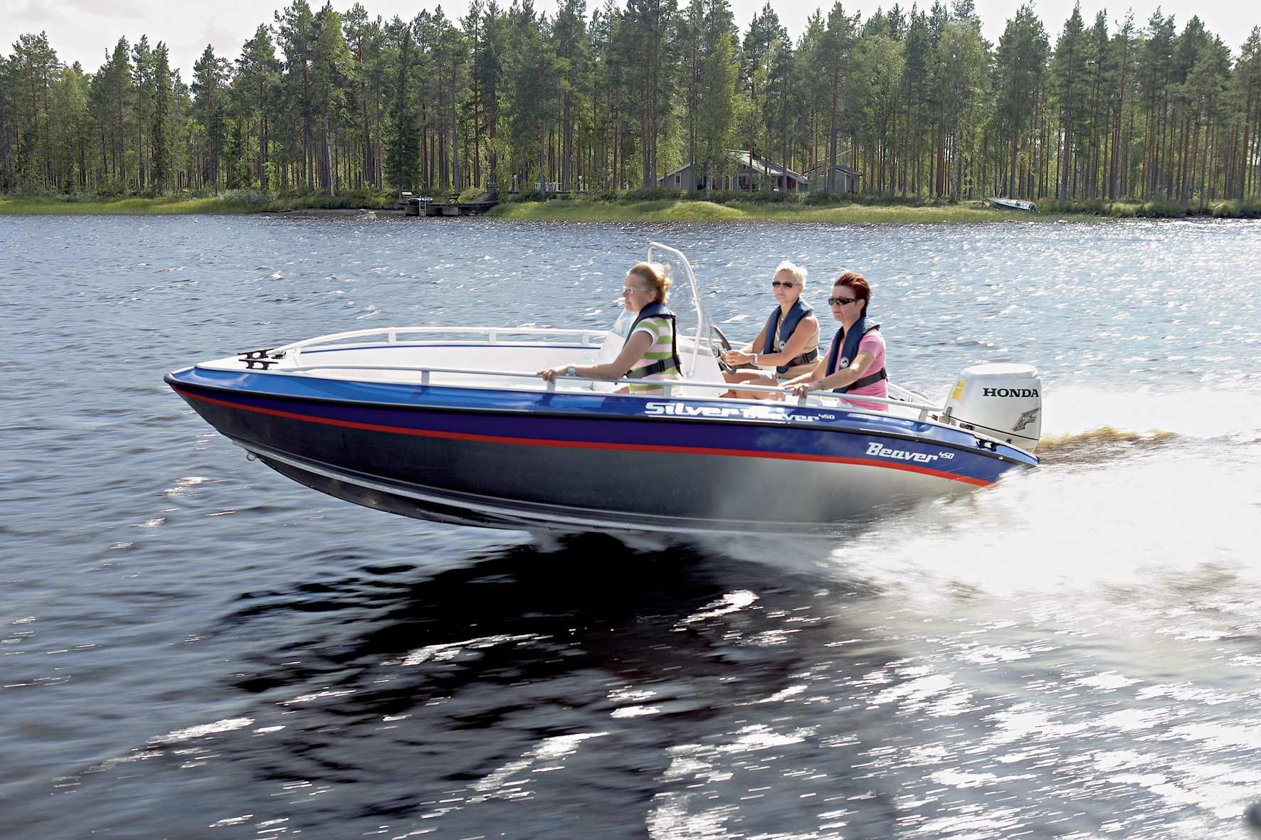 Silver Boats Beaver 450 (Pêche Promenade)