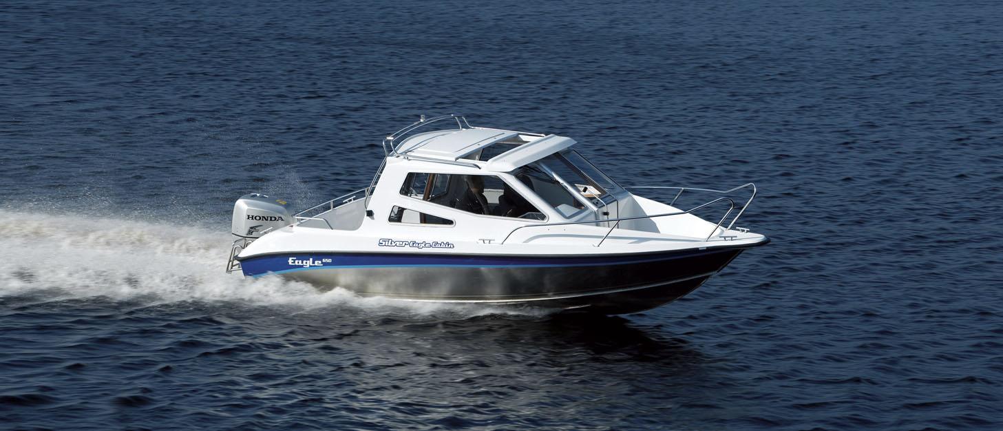 Silver Boats Cabin 650 (Pêche Promenade)