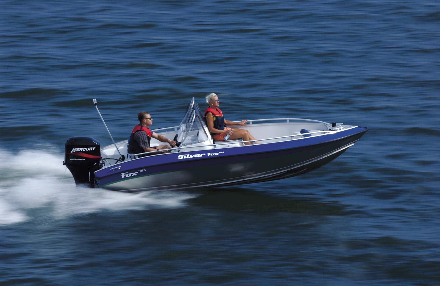 Silver Boats Fox DC 485 (Pêche Promenade)